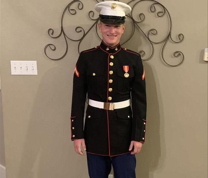 SERVPRO Team Member Becomes United States Marine