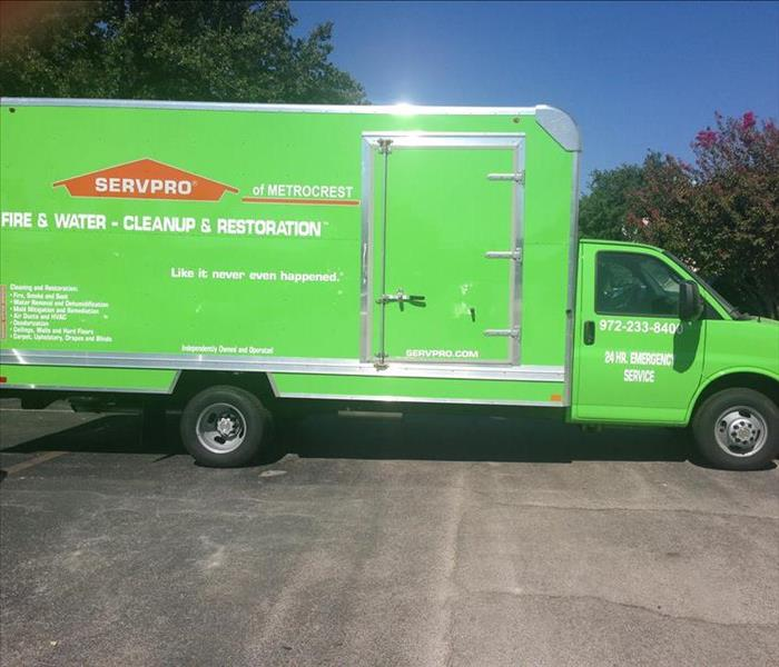 New 16 Ft Box Truck Added To Our Team Servpro Of Metrocrest