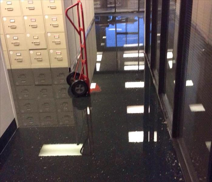 Commercial Commercial Water Damage - What To Do When It Happens