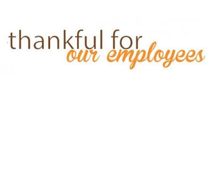 General SERVPRO of Metrocrest is Thankful