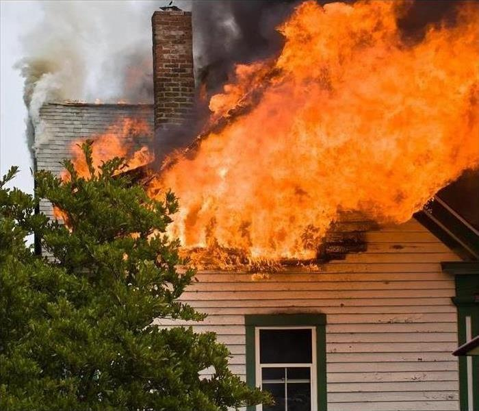 Fire Damage Rely on SERVPRO of Metrocrest When a Fire Leaves Your Home Unsafe and Damaged